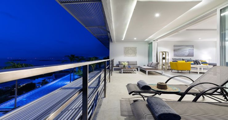 Luxury 3 Bedroom Sea View Apartment in Big Buddha-19