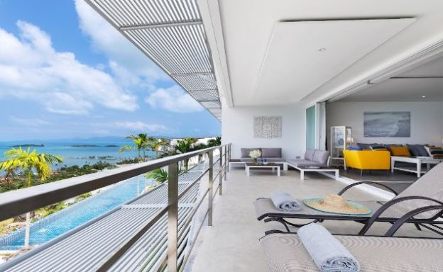 Luxury 3 Bedroom Sea View Apartment in Big Buddha