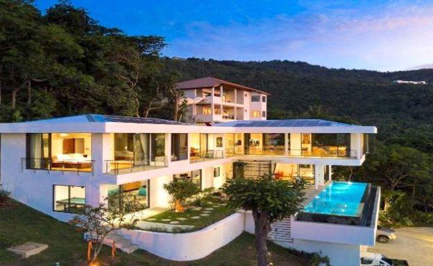Contemporary 3 Bed Luxury Sea view Villa in Bangpor