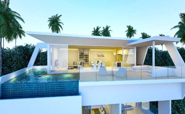 Luxury 3-4 Bedroom Sea view Villas by Plai Laem Beach