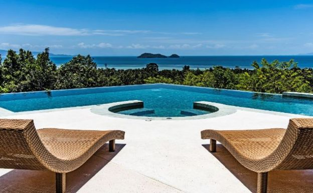 Spectacular 3 Bed Sunset Sea view Villa in Koh Phangan