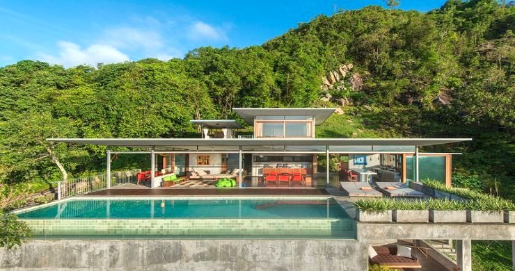Unique 6 Bed Sea View Villa for Sale in Taling Ngam-1