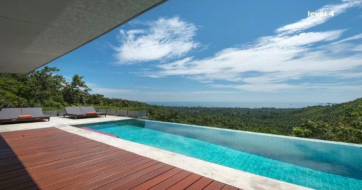 Unique 6 Bed Sea View Villa for Sale in Taling Ngam-4
