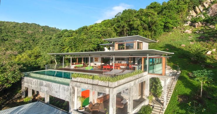 Unique 6 Bed Sea View Villa for Sale in Taling Ngam-24
