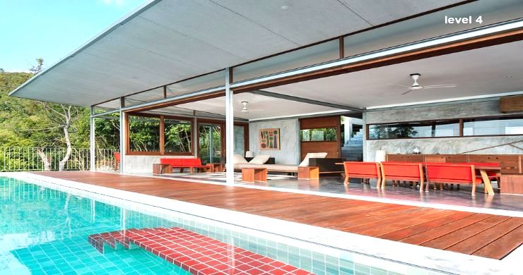 Unique 6 Bed Sea View Villa for Sale in Taling Ngam-5