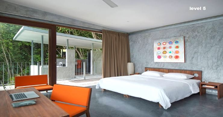 Unique 6 Bed Sea View Villa for Sale in Taling Ngam-8