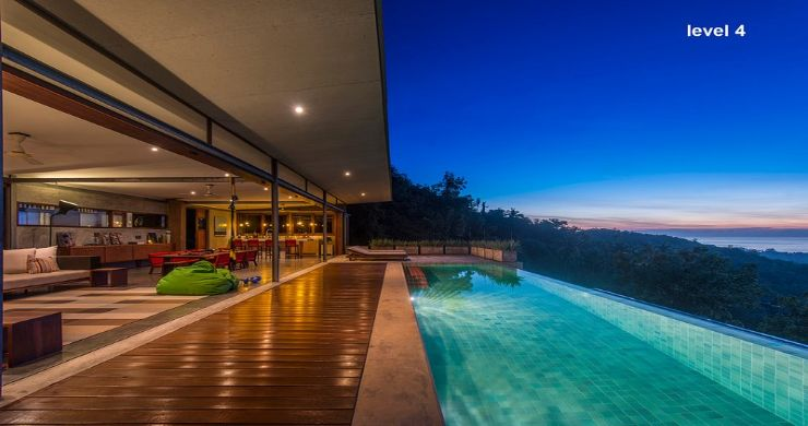 Unique 6 Bed Sea View Villa for Sale in Taling Ngam-22
