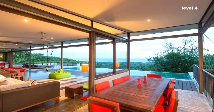 Unique 6 Bed Sea View Villa for Sale in Taling Ngam-3