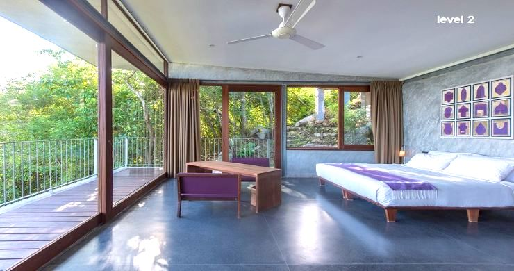 Unique 6 Bed Sea View Villa for Sale in Taling Ngam-11