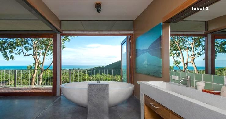 Unique 6 Bed Sea View Villa for Sale in Taling Ngam-12