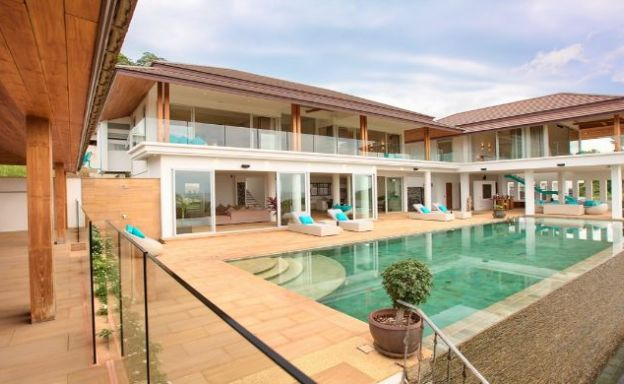 Stunning 6 Bed Sea View Villa for Sale in Bang Por