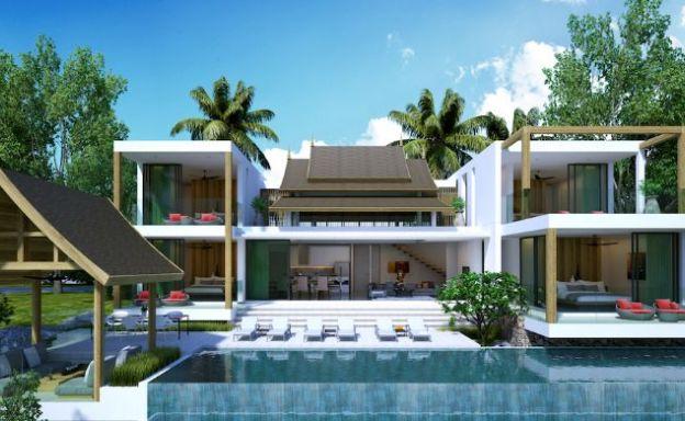 Asian Style Luxury 3 Bedroom Villa for Sale in Lamai