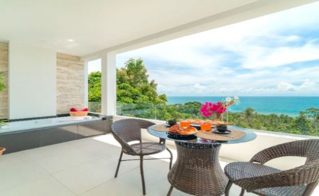 Modern 1-2 Bedroom  Sea View Apartments in Lamai