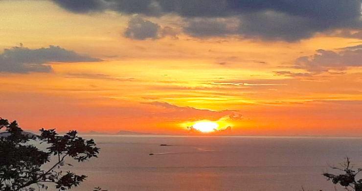 Koh Samui Sunset Sea View Land for Sale in Plai Laem-6