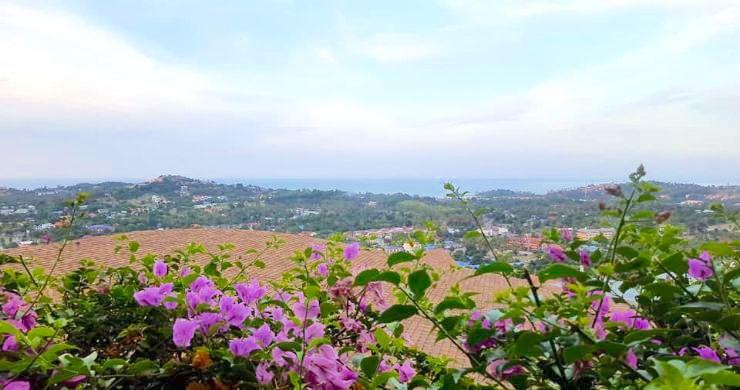 Koh Samui Sunset Sea View Land for Sale in Plai Laem-3
