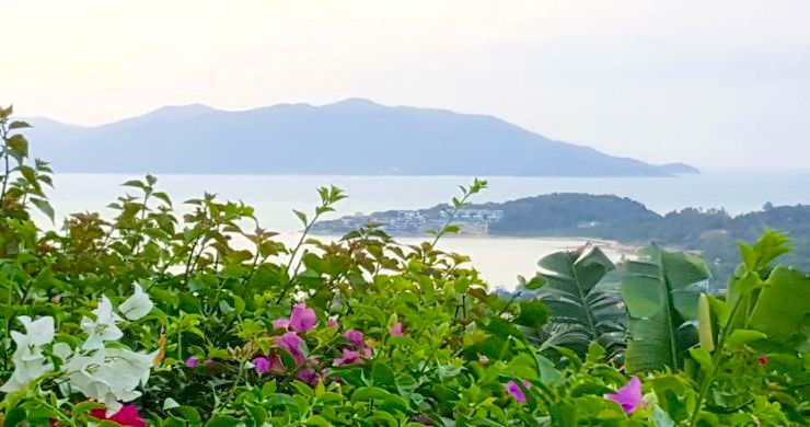 Koh Samui Sunset Sea View Land for Sale in Plai Laem-2