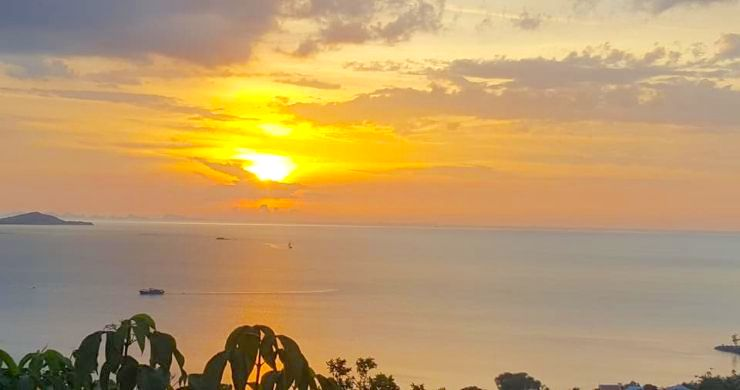 Koh Samui Sunset Sea View Land for Sale in Plai Laem-7