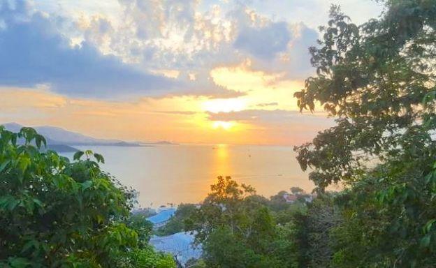 Koh Samui Sunset Sea View Land for Sale in Plai Laem