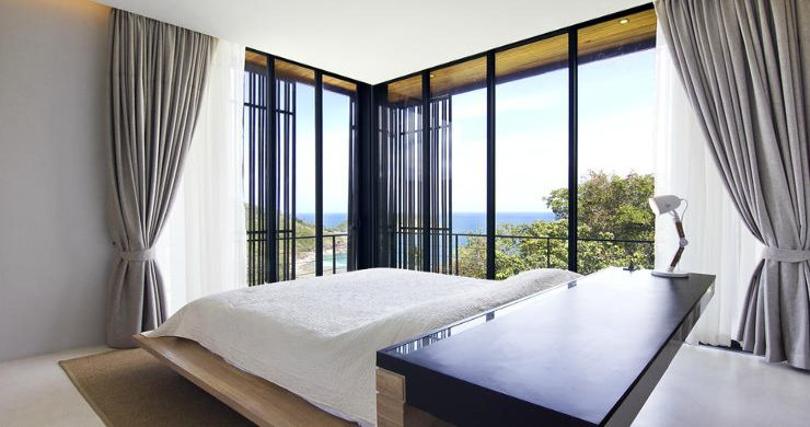 Beautiful 4 Bed Luxury Sea View Villa in Koh Phangan-14