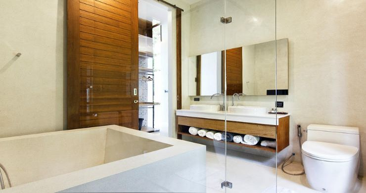 Beautiful 4 Bed Luxury Sea View Villa in Koh Phangan-12