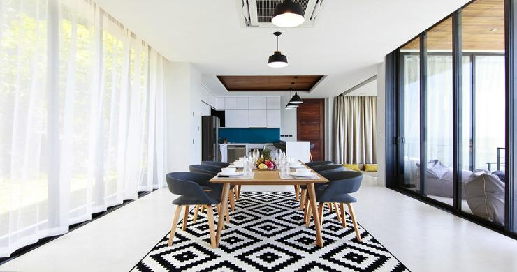 Beautiful 4 Bed Luxury Sea View Villa in Koh Phangan-4