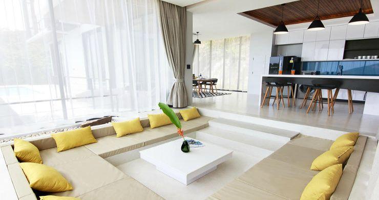 Beautiful 4 Bed Luxury Sea View Villa in Koh Phangan-5