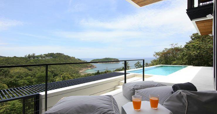 Beautiful 4 Bed Luxury Sea View Villa in Koh Phangan-10
