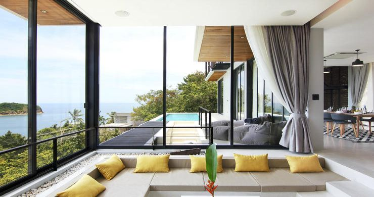 Beautiful 4 Bed Luxury Sea View Villa in Koh Phangan-3