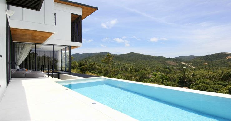 Beautiful 4 Bed Luxury Sea View Villa in Koh Phangan-2
