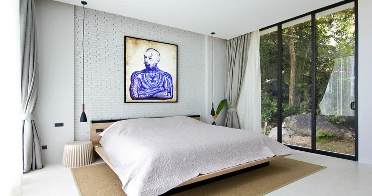 Beautiful 4 Bed Luxury Sea View Villa in Koh Phangan-8