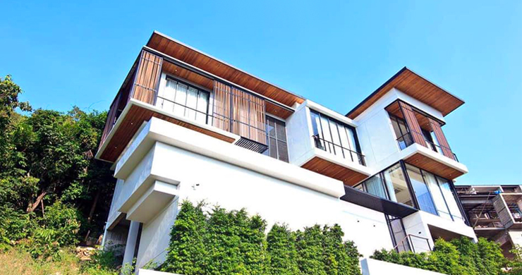 Beautiful 4 Bed Luxury Sea View Villa in Koh Phangan-1