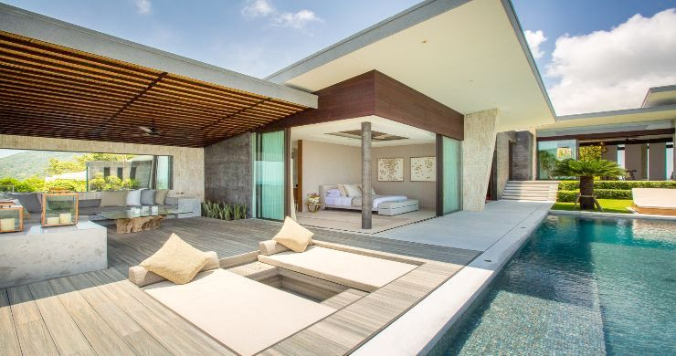 Ultimate 4 Bedroom Luxury Sea View Villa in Bangpor-6
