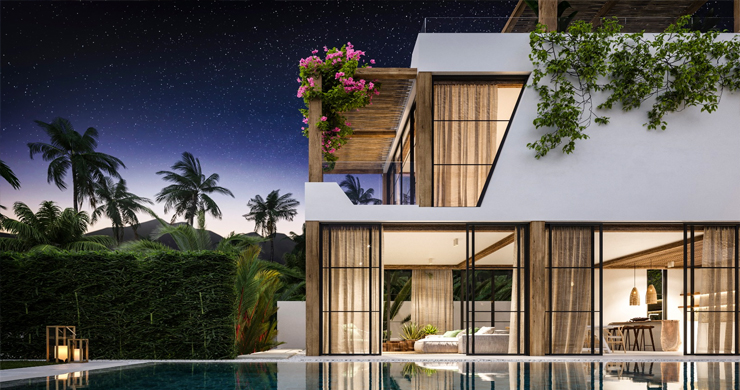 Beautiful 3 Bed Luxury Villas for Sale in Chaweng Noi-30