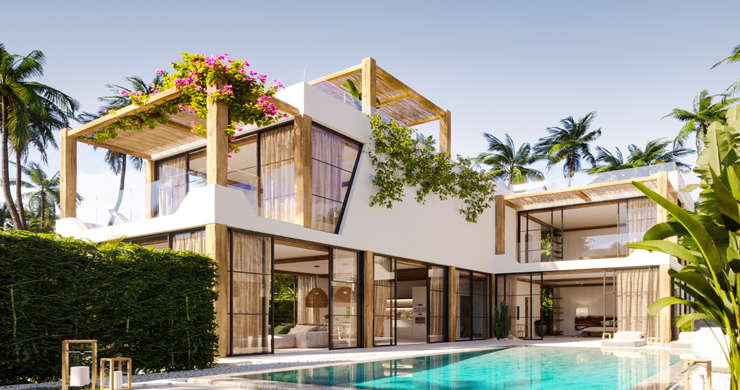 Beautiful 3 Bed Luxury Villas for Sale in Chaweng Noi-2