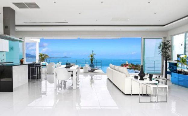 Luxury 4 Bed Unique Sea view Villa by Bangrak Beach
