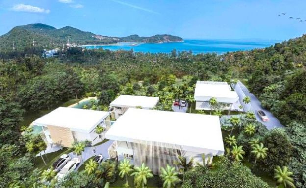 Stunning Sea-view Land & Villas in Koh Phangan
