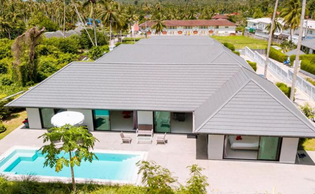 Charming 3 Bed Modern Pool Villa for Sale in Lamai