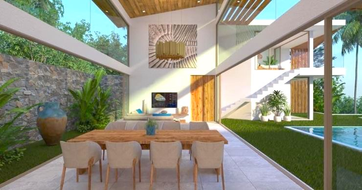 Gorgeous 4 Bed Luxury Sea View Villas in Chaweng Noi-3