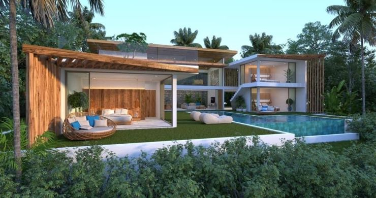 Gorgeous 4 Bed Luxury Sea View Villas in Chaweng Noi-9