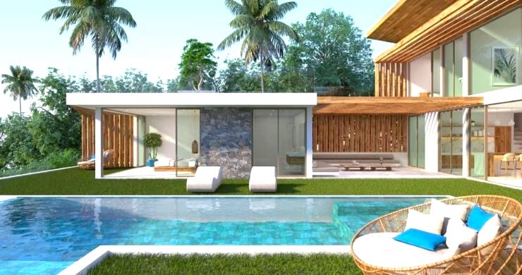 Gorgeous 4 Bed Luxury Sea View Villas in Chaweng Noi-5