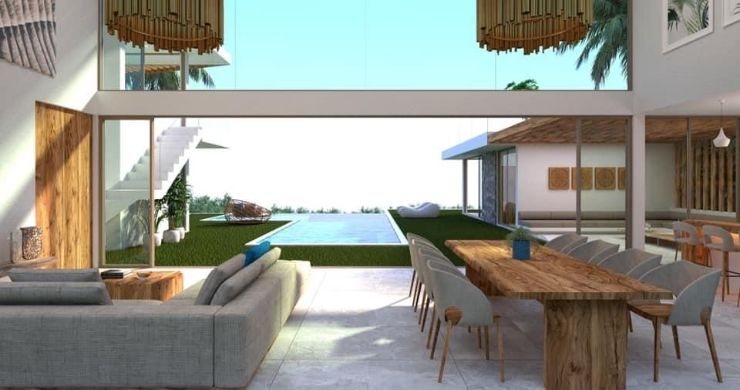 Gorgeous 4 Bed Luxury Sea View Villas in Chaweng Noi-6