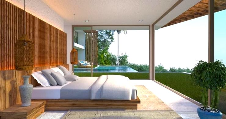 Gorgeous 4 Bed Luxury Sea View Villas in Chaweng Noi-8
