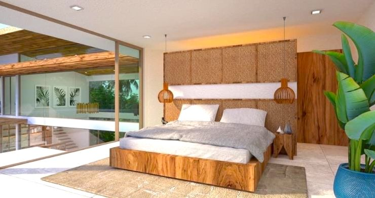 Gorgeous 4 Bed Luxury Sea View Villas in Chaweng Noi-7