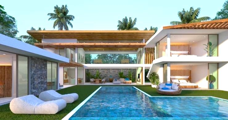 Gorgeous 4 Bed Luxury Sea View Villas in Chaweng Noi-10