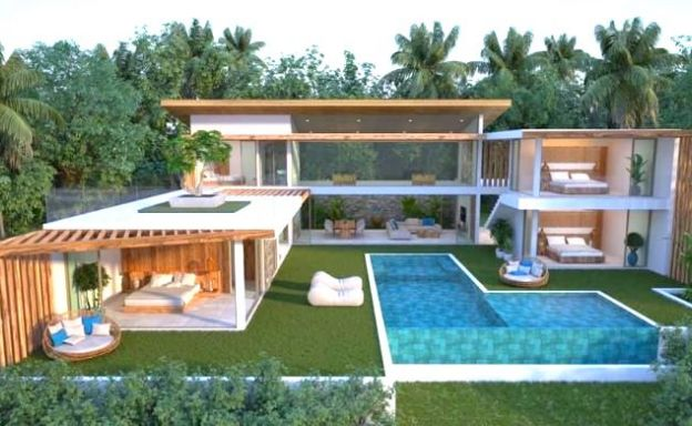 Gorgeous 4 Bed Luxury Sea View Villas in Chaweng Noi