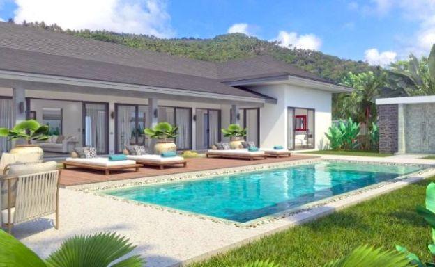 Beautiful Bali 3 Bed Villas with Large Garden in Maenam