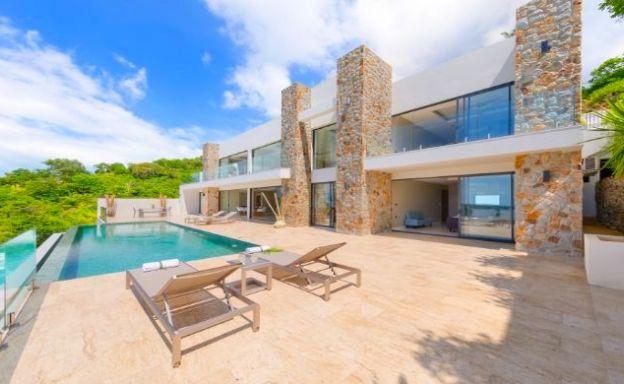 Luxury 4-5 Bedroom Sea View Villa in Bophut Hillside