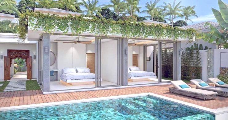 Luxury 3 Bed Bali Sea View Villas for Sale in Bophut-10
