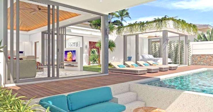 Luxury 3 Bed Bali Sea View Villas for Sale in Bophut-3