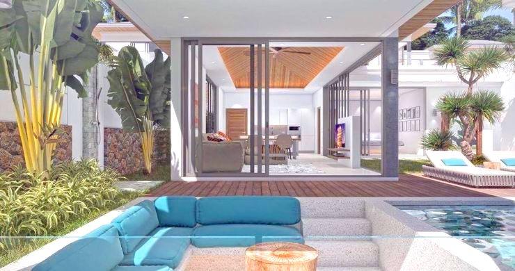 Luxury 3 Bed Bali Sea View Villas for Sale in Bophut-5
